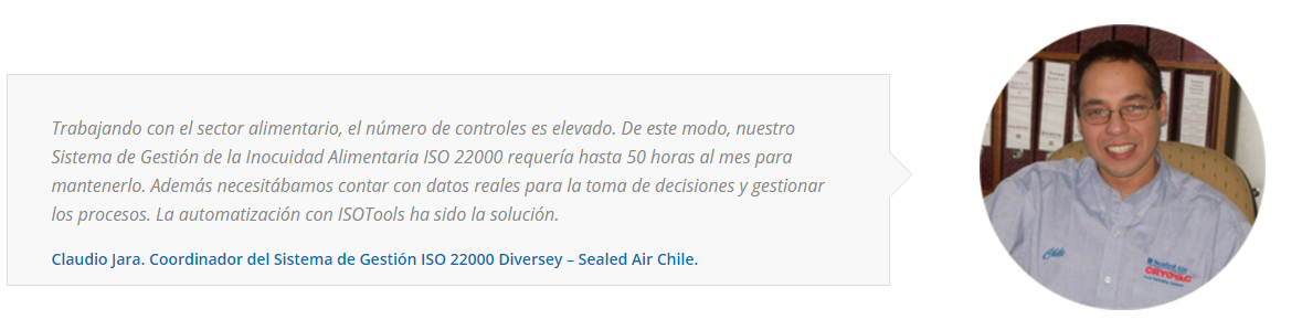 Testimonio Diversey - Sealed Air Chile